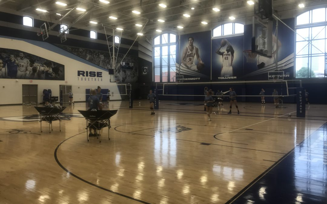 My Day With the Creighton Bluejays