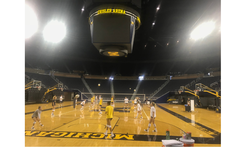 A Weekend With The Wolverines; Practice and Match Prep Observations