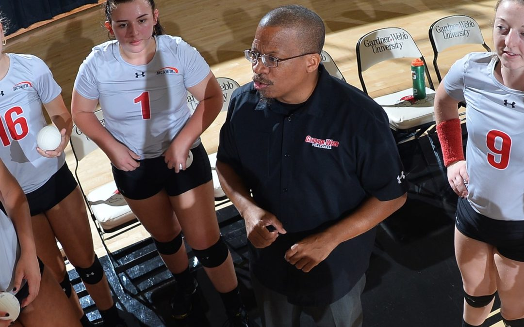 A Big Couple of Days in the Big South! (Part 2 – Gardner Webb: Coach Leo Sayles)